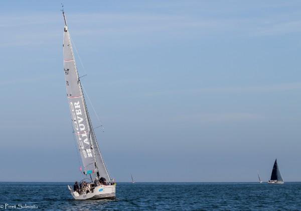 Sellel regatil esimese sõiduvõidu noppinud ORC I grupi jaht Minni Kalevi Jahtklubist. Foto Piret Salmistu