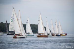 Folkbootide klassi start Kakumäelt. Foto Gerli Tooming