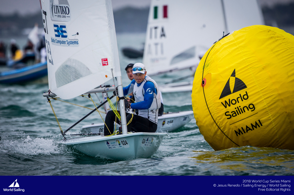Karl-Martin Rammo. Foto autor: Jesus Renedo /Sailing Energy/World Sailing