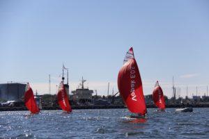 29er klass 2017. aasta Tallinn Race'il. Foto autor: Riina Ramst