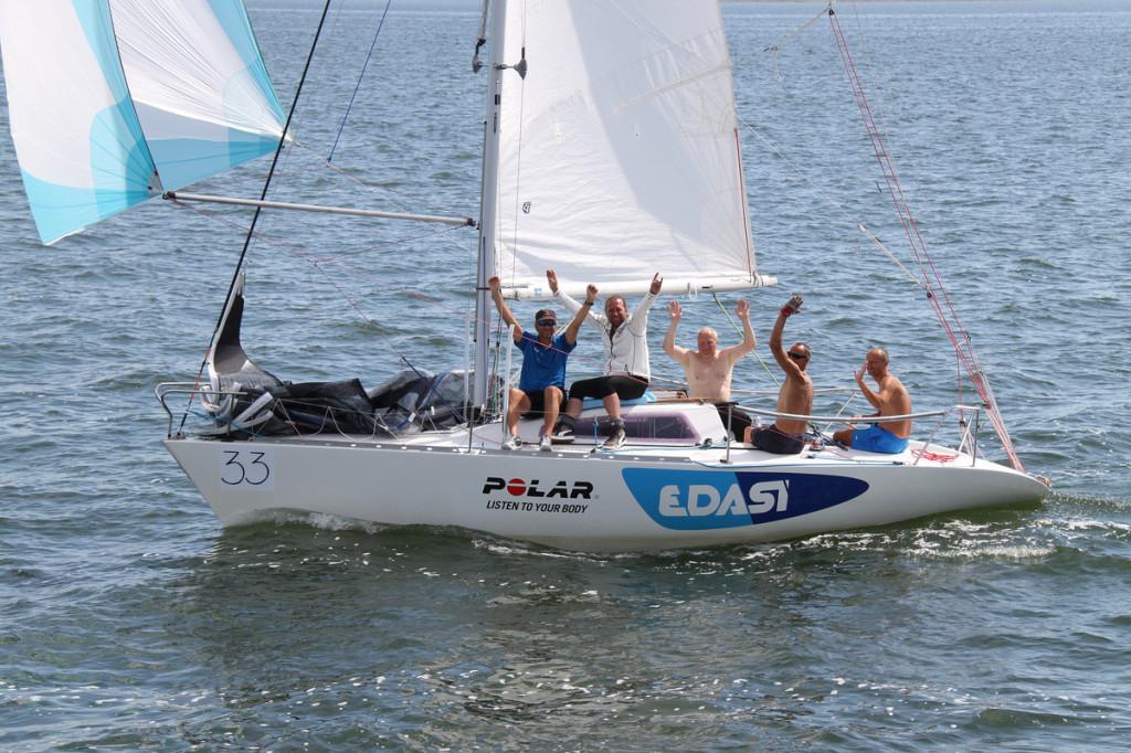 Edasi EST11, kapten Koit Pauts, Haapsalu Jahtklubi. Foto: Piret Salmistu