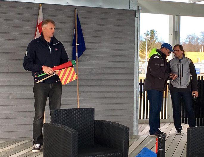 Kaptenite koosolek Haven Kakumäel FOTO: Eesti Purjetamisliiga