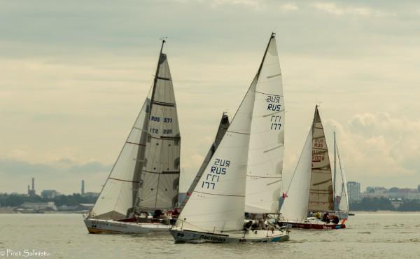 ORC III grupi etapivõitja - Lastochka Venemaalt Aleskandr Evseeviga roolis (Orekhova harbor). Foto Piret Salmistu.