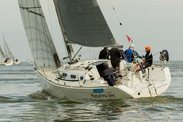 ESTLYS I grupis võttis regati pikima etapi võidu Katarina Jee Saaremaa Merispordi Seltsist. Foto Piret Salmistu