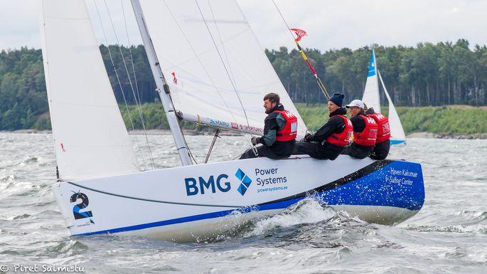 Eesti Match Race Liidu meeskond Foto autor: Piret Salmistu