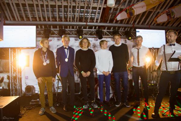 Eesti meistrid purjelauaklassides Techno 293, RS:X ja Formula. Foto: Raul Harro