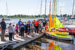 Eriliste Purjetajate üritus juunis 2019 Pärnus. Foto autor: Raul Mee