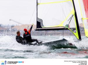 Juuso ja Henri Roihu. Foto autor: Pedro Martinez / Sailing Energy