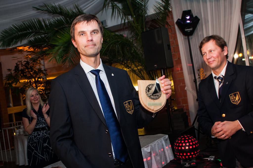 Aasta Soodimees Tammo Otsasoo Kuldmärkide üleandmine jahi Forte meeskonnaliikmetele Foto: Meisi Volt, Postimees