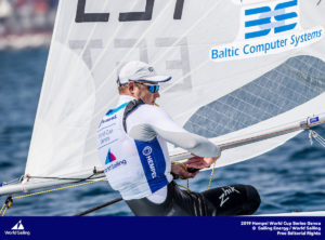 Genoa, Italy is hosting sailors for the third regatta of the 2019 Hempel World Cup Series from 15-21 April 2019. More than 700 competitors from 60 nations are racing across eight Olympic Events.©JESUS RENEDO/SAILING ENERGY/WORLD SAILING 16 April, 2019.