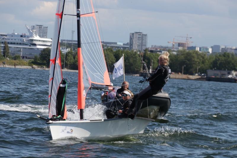 Lili Kotilainen ja Vilma Rikala Foto autor: Riina Ramst