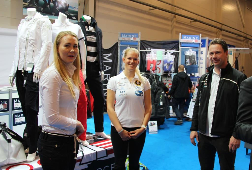 Fotol vasakult paremale: Triin Tallmeister, Anna Pohlak ja Stefan de Vries. Foto autor: Indrek Ilves
