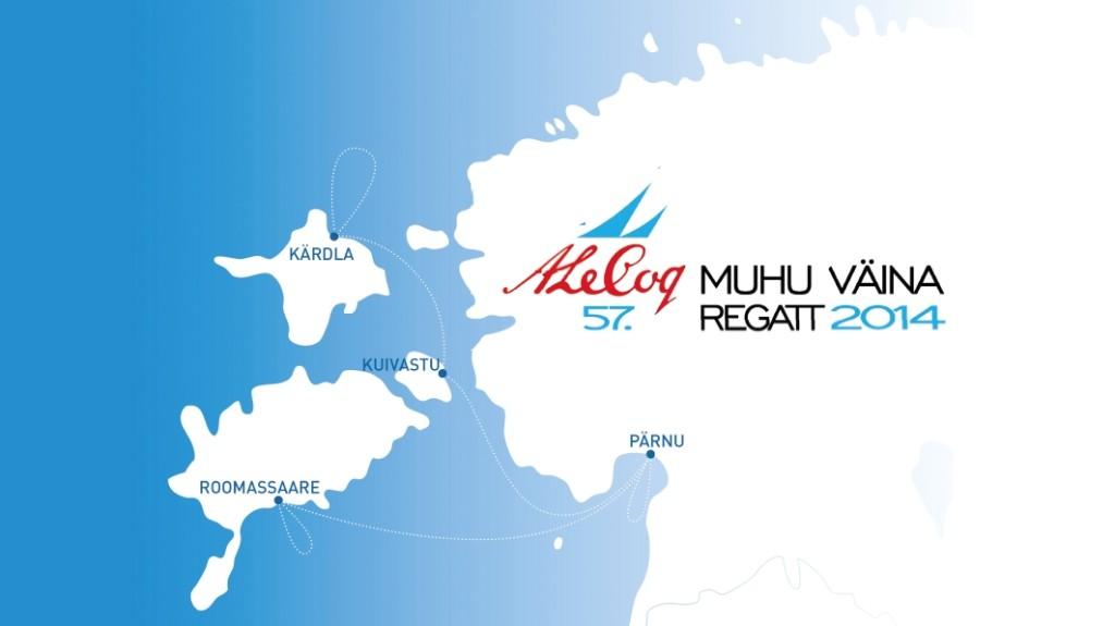 Muhu Väina regatt 2014 kaart