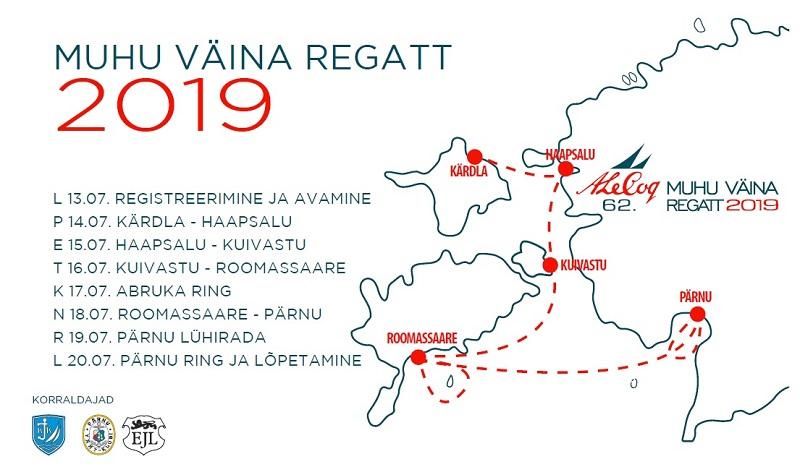 Muhu Väina regatt 2019