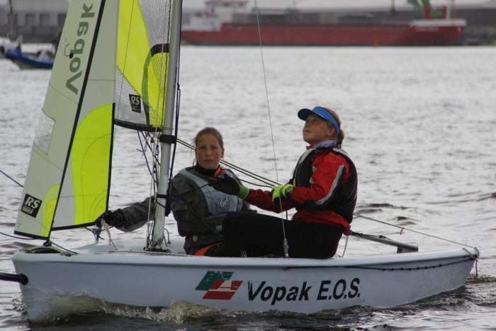 Veronika Kuvatova ja Hannah Tuulas. Foto autor: Riina Ramst