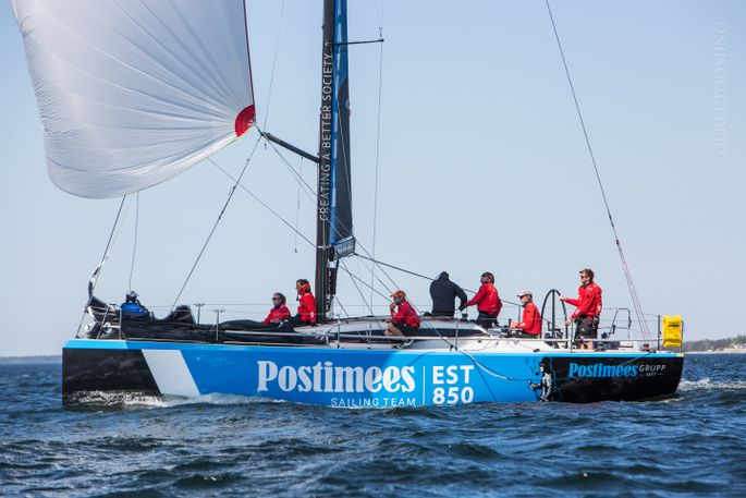 Postimees Sailing Team Foto autor: Gerli Tooming