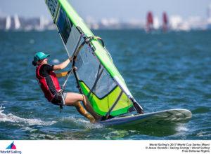 Ingrid Puusta. Foto autor: Jesus Renedo / Sailing Energy / World Sailing