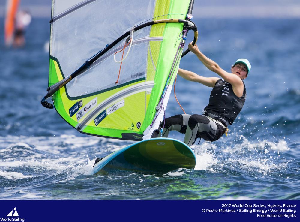 Ingrid Puusta. Foto autor: Pedro Martinez/Sailing Energy/World Sailing