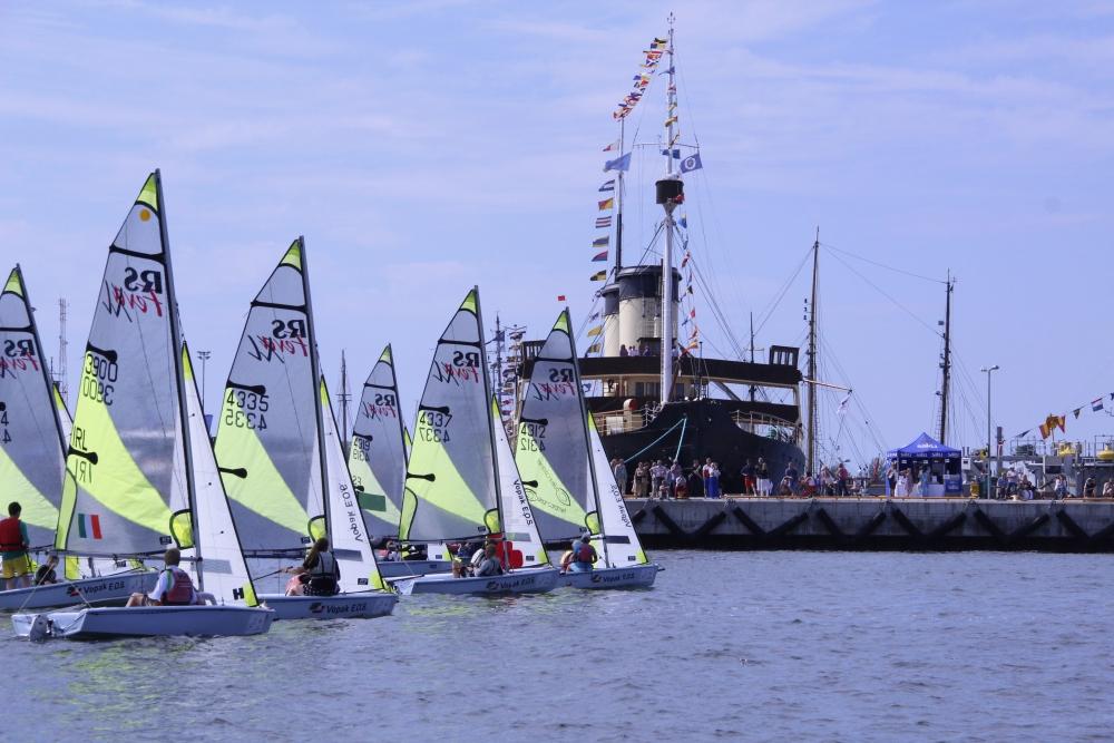 RS Feva klass Lennusadmas purjetamas. Foto autor: Riina Ramst