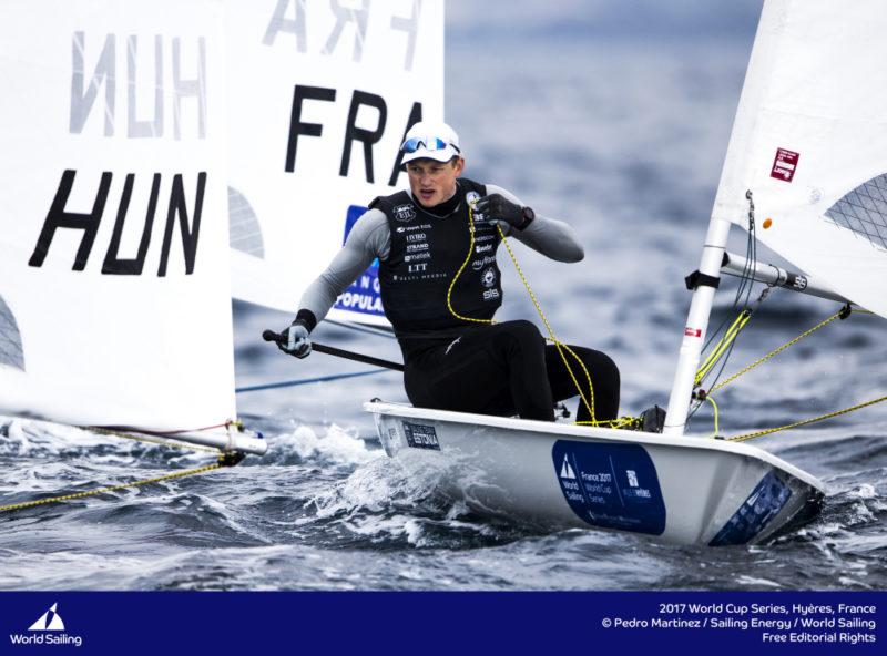 Karl-Martin Rammo. Foto: Pedro Martinez / Sailing Energy / World Sailing