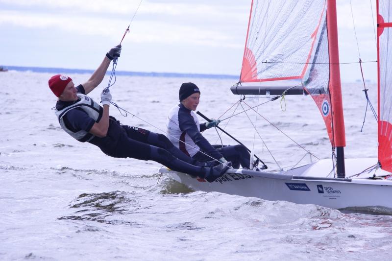 Juuso ja Henri Roihu (29er klass). Foto autor: Riina Ramst