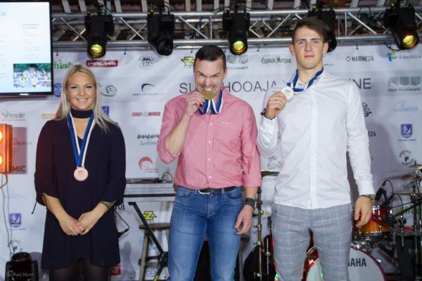 SUP EMV võitjad. Foto: Raul Harro