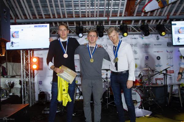 Slaalomi EMV võitjad. Foto: Raul Harro