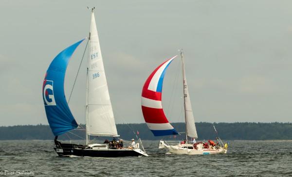 ESTLYS II grupi võidujaht Kihnu-Pärnu etapil oli Margus Beljakovi Liliann Saaremaa Merispordi Seltsist. Peterburgist. Foto Piret Salmistu
