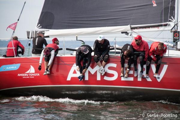 ORC II grupis teise tulemuse välja sõitnud Amserv Toyota Sailing Team Kalevi Jahtklubist. - Foto Gerli Tooming