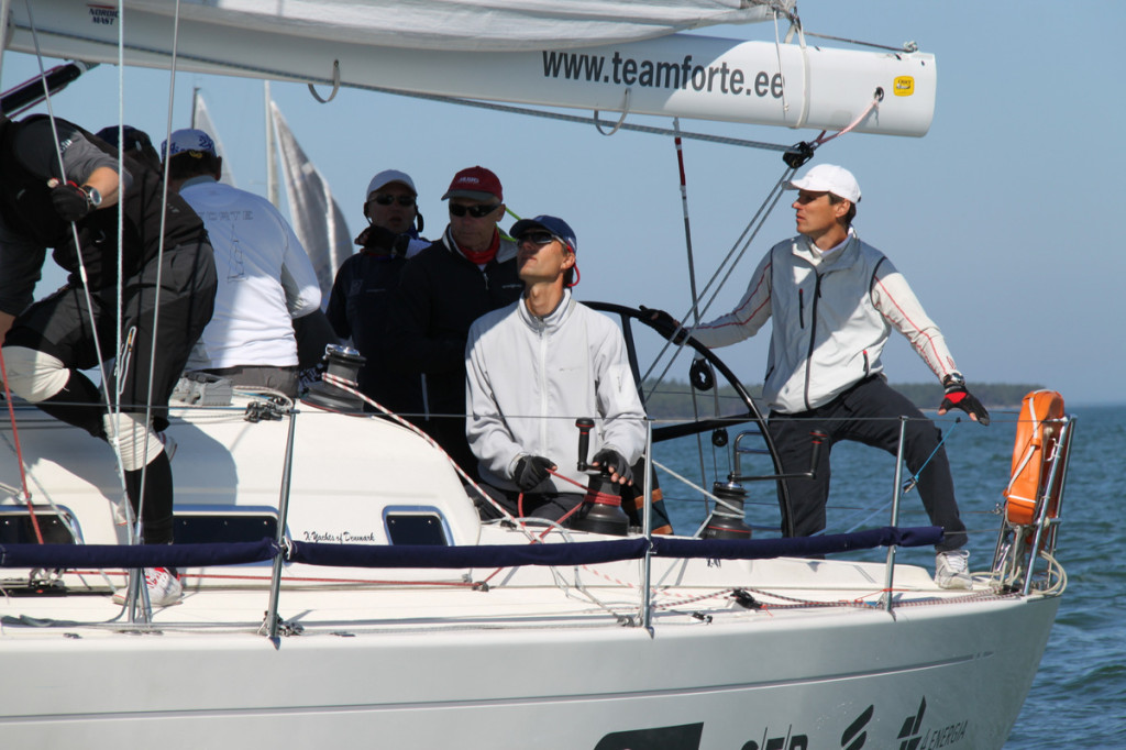 Jaht Forte, kapten Jaak Jõgi, Kalev Jahtklubi.  Foto: Piret Salmistu