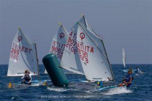 2018 Optimist MM Küprosel, Matias Capizzano