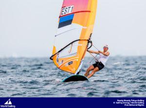 Ingrid Puusta. Foto: Pedro Martinez / Sailing Energy / World Sailing
