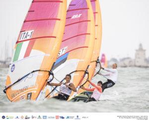 Ingrid Puusta koos itaallannaga kihutamas. Foto: Francisco Douglas Rosa Machado