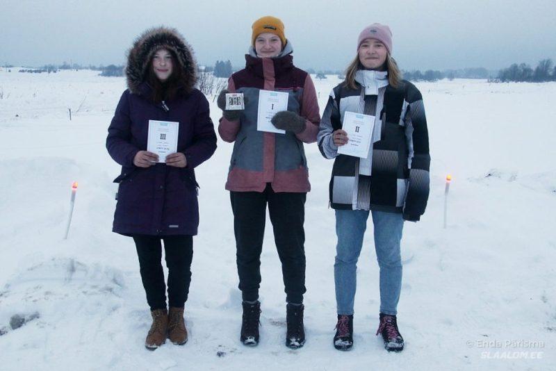 Kelkude naiste arvestuse poodium Foto autor: Enda Pärisma