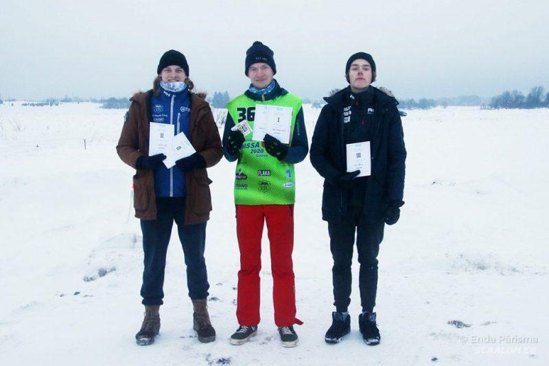Kelkude üld- ja U20 arvestuse poodium Foto autor: Enda Pärisma