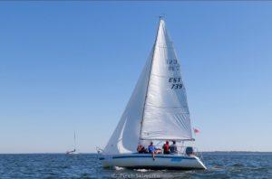 A. Le Coq 63. Muhu Väina regatt 2020 - Santa Maria Haven Kakumäe - Kalevi Jahtklubi etapi ORC III grupi võitja Celia. Foto: Piret Salmistu