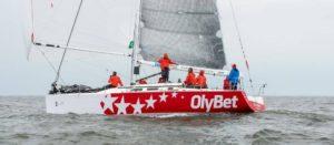 Olympic EST463 Tiit Vihuliga roolis Hiiumaa Jahtklubist Dago.  Foto: Ardi Truija/Postimees