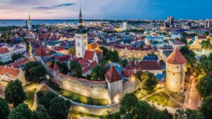 The old city of Tallinn is a UNESCO World Heritage Site