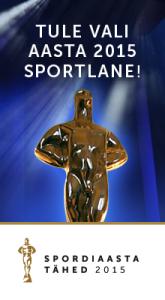 Aasta Sportlane 2015 banner piklik