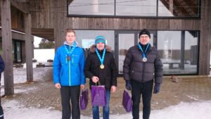 DN klassi esikolmik - vasakult paremale Rasmus Maalinn, Gatis Graudums, Vaiko Vooremaa Foto autor: Marek Lentsius