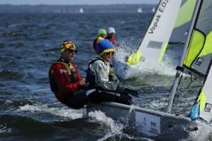 RS Feva klassi võitjad Daimar Pall ja Jorgen Kuivonen. Foto autor: Riina Ramst