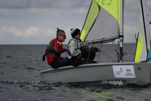 Daimar Pall ja Jorgen Kuivonen, RS Feva klassi võitjad. Foto autor: Riina Ramst