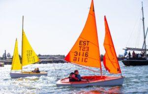 Eriliste purjetajate üritus Tallinna merepäevadel. Foto autor: Raul Mee