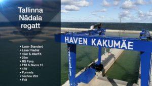 Garmin Purjetamise EMV 2020 9. etapp Tallinna Nädal poster