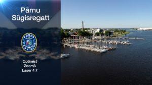 Garmin purjetamise EMV 8. etapp Pärnu Sügis