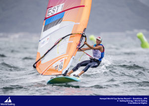 Ingrid Puusta. Foto autor: Jesus Renedo / Sailing Energy / World Sailing