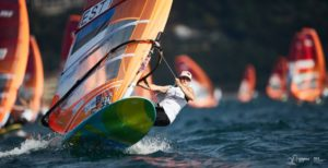 Ingrid Puusta Foto autor: Robert Hajduk - RS:X Class