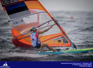 Ingrid Puusta Foto autor: Jesus Renedo / Sailing Energy / World Sailing