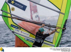 Ingrid Puusta. Foto autor: Jesús Renedo / Sailing Energy / Trofeo Princesa Sofía IBEROSTAR