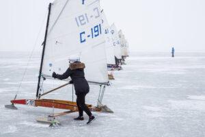 Jääpurjetamise Pärnu meistrivõistlused Foto autor: Eiliki Pukk